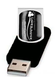 clef USB objet publicitaire